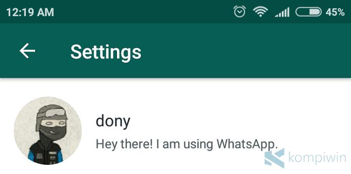 Cara Mengganti Foto Profil WhatsApp di Android, iPhone, Windows Phone 6