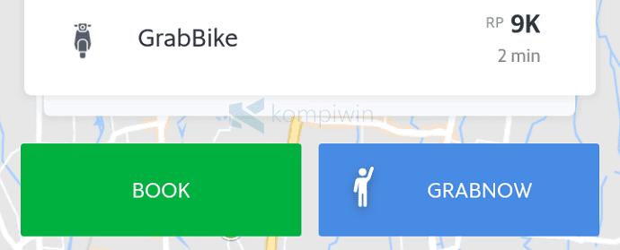Cara Pesan GrabBike di Android/iPhone 2
