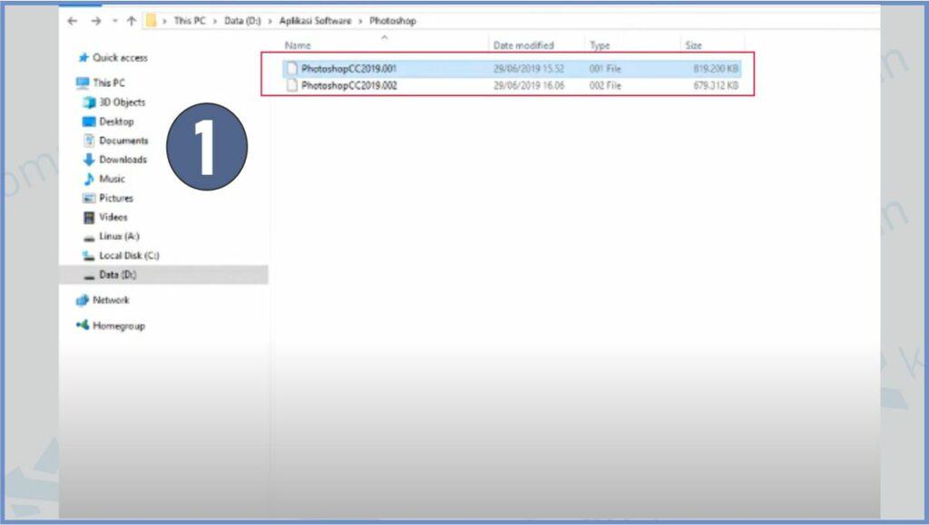 File Part Sudah Menjadi 1 Dan Sudah Bisa Dibuka