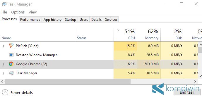 5 Cara Mengatasi CPU Usage 100% yang Bikin Laptop Panas 2
