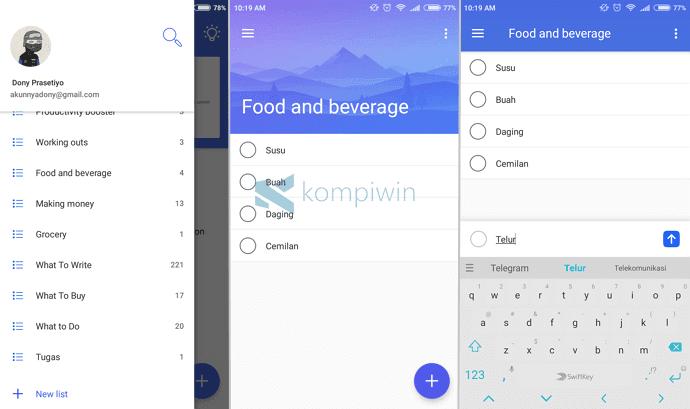 7 Aplikasi To-Do List Terbaik di Android yang Bisa Kamu Download Gratis 5