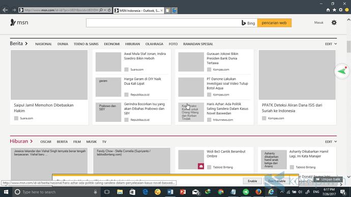 Cara Menghilangkan Gambar ketika Browsing di PC/Laptop 4