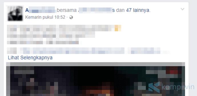 Cara Agar Teman Facebook Tidak Bisa Tag Kamu Sembarangan 2