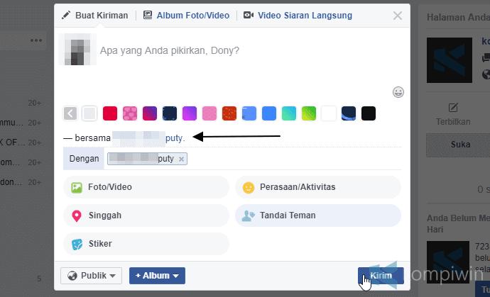 Cara Tag Banyak Teman di Facebook Browser, Facebook Lite, dan Facebook di Smartphone Android/iPhone 5