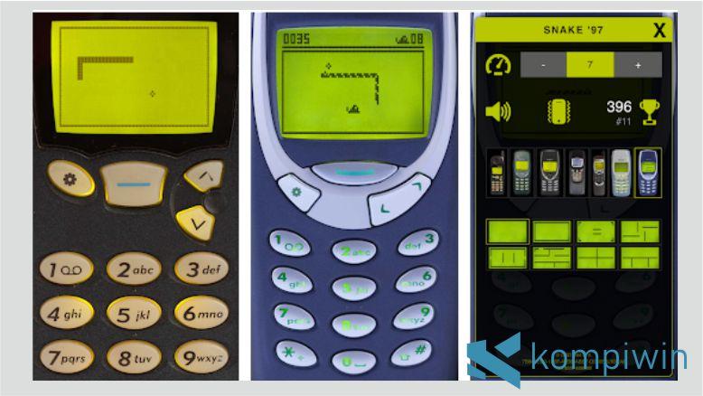 Game Snake '97