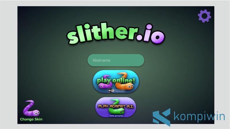 Game Ular slither.io