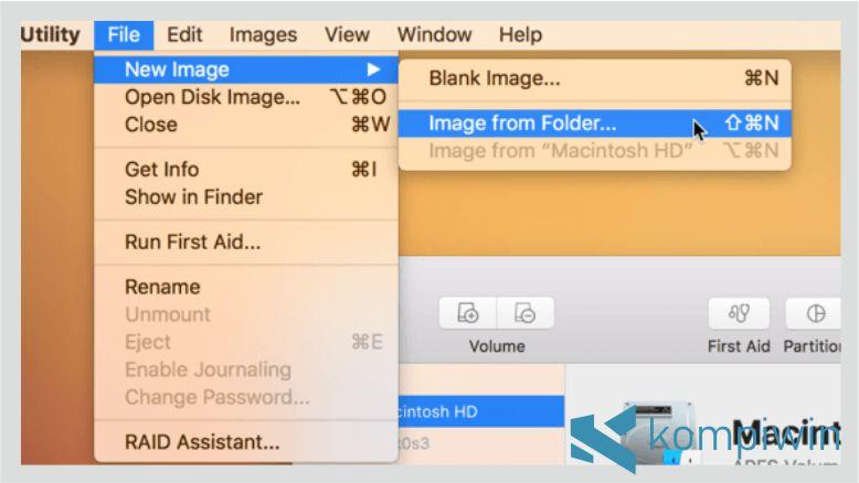 Langkah 1. Cara Mengunci Folder di Mac OS dengan Disk Utility