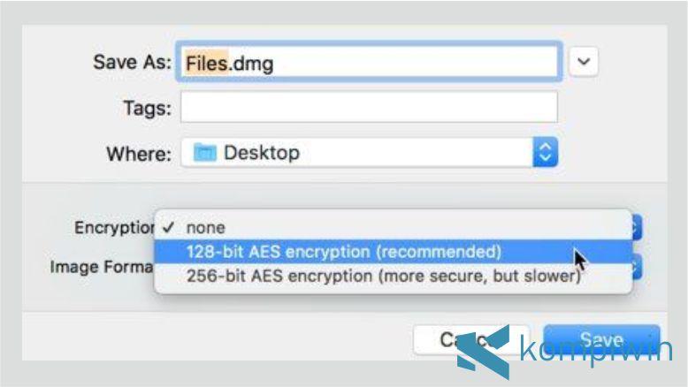 Langkah 2. Cara Mengunci Folder di Mac OS dengan Disk Utility