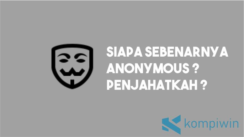 Siapa Anonymous