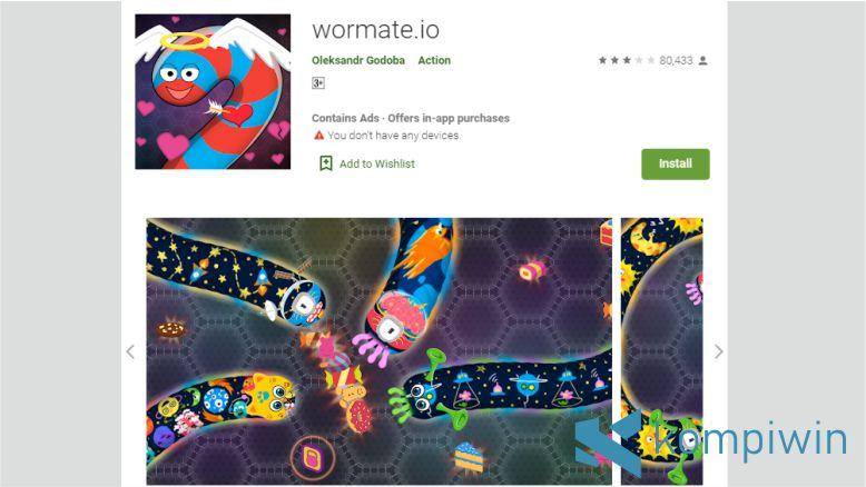 wormate.io - Game Cacing yang sedang trend