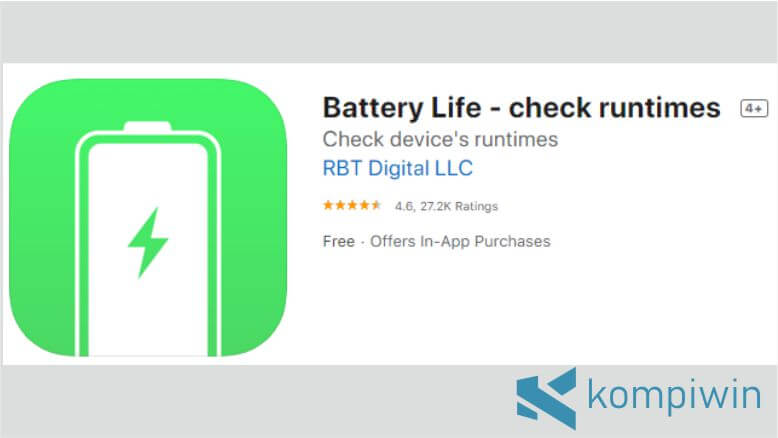 Battery Life – check runtimes