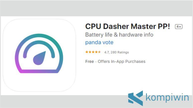 CPU Dasher Master