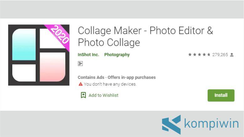 Collage Maker untuk Menggabungkan Foto