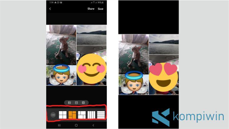 Fitur Bawaan Smartphone untuk Menggabungkan Foto