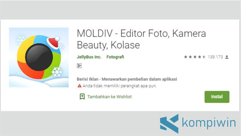 Fitur Kolase di Moldiv