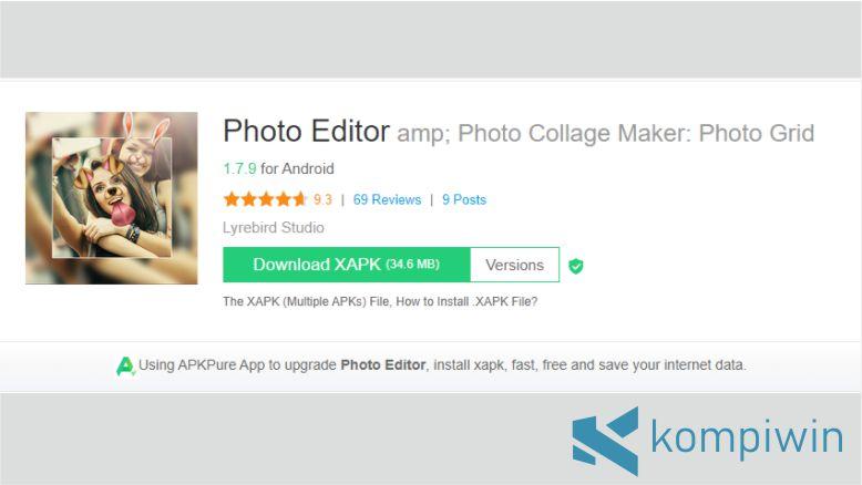 Gabung Foto dengan Photo Editor