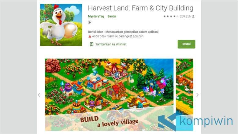 Harvest Land - Farm & City Building
