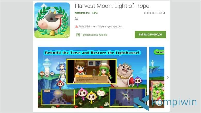 Harvest Moon - Light of Hope