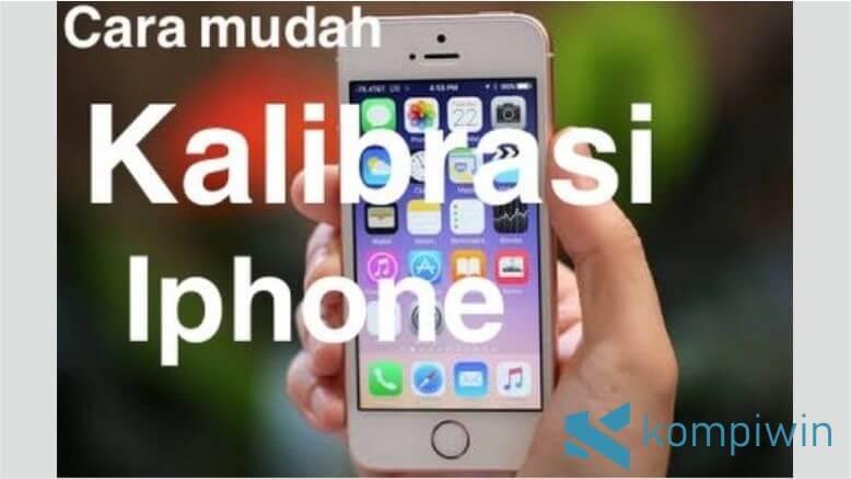 Lakukan kalibrasi baterai iPhone