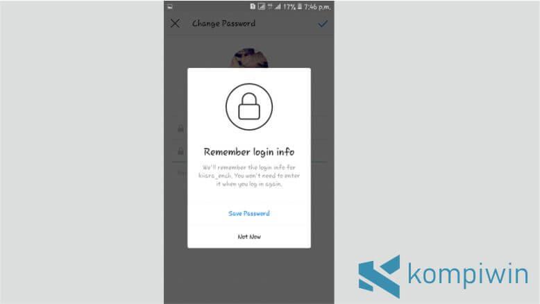 Password Instagram yang Lupa Sudah Diganti dengan Password Baru