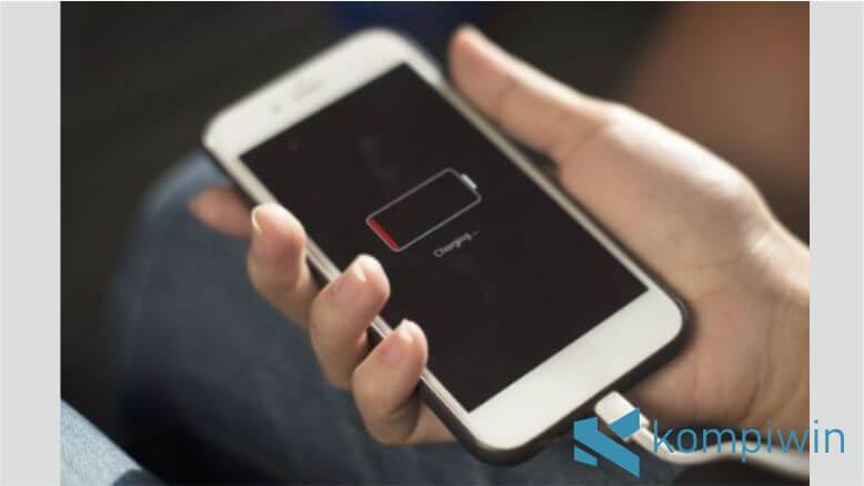 Silahkan matikan iPhone saat dicas