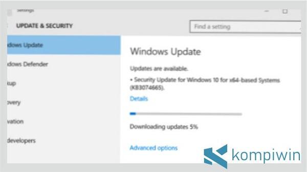 Windows 10 Banyak Perubahan