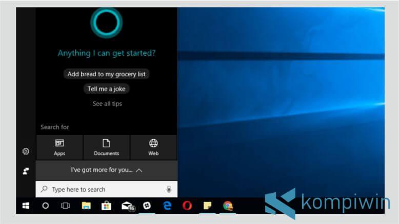 Windows 10 Menghadirkan Fitur Cortana
