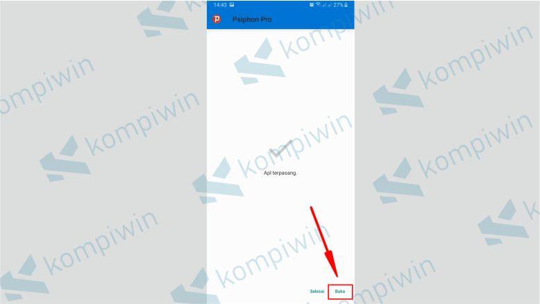 Buka Aplikasi Psiphon Pro