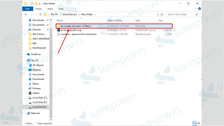 Masuk ke Folder Re-Loader Activator 3.0 Beta 3