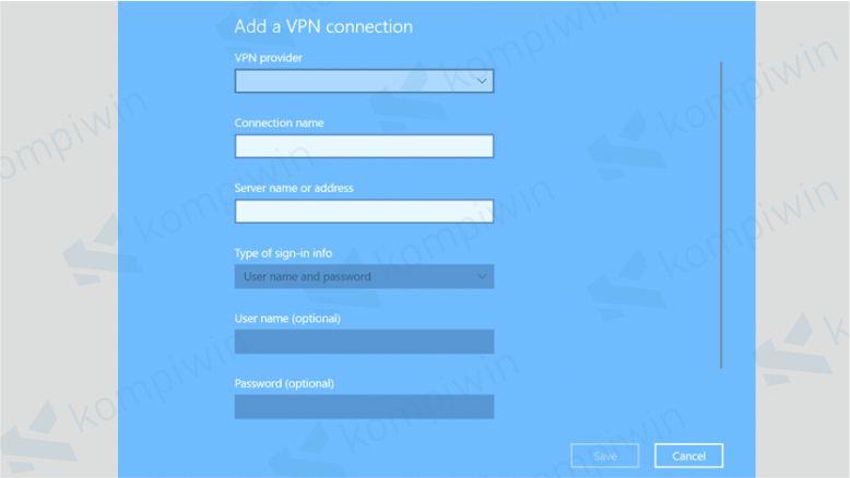 Cara Menggunakan VPN di PC/Laptop 1