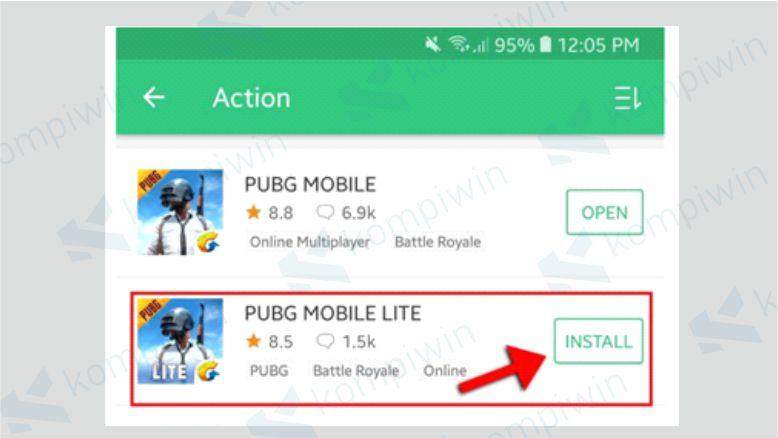 Mulai Download dan Install PUBG Mobile LITE