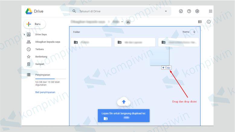 Cara Upload File ke Google Drive dengan Drag and Drop