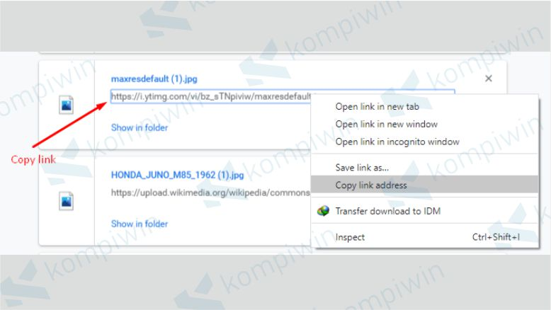 Copy Link Download dari Zippyshare