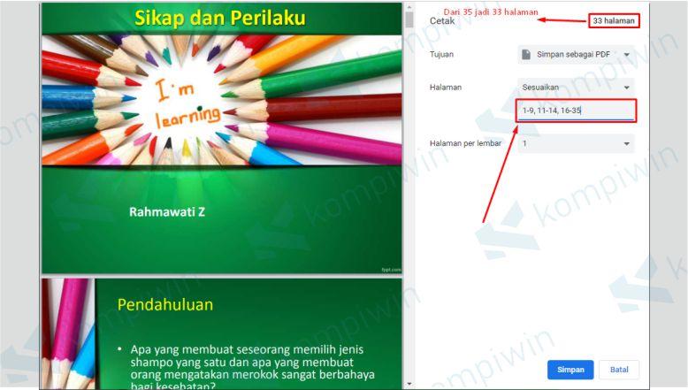 Hilangkan Halaman PDF yang Ingin Dihapus