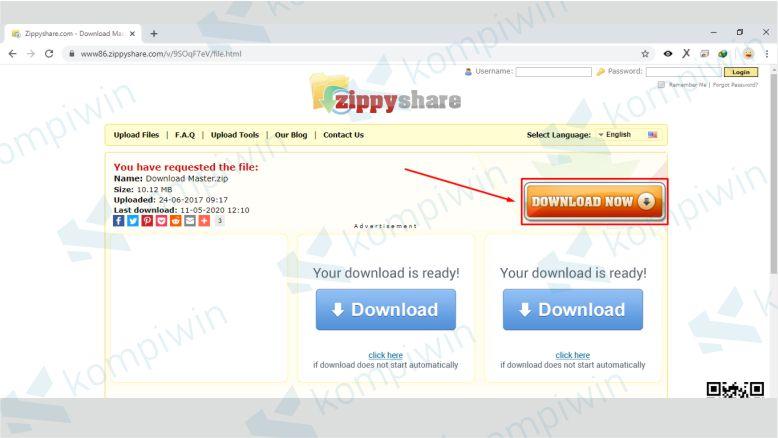 Klik Download Now Zippyshare Lagi