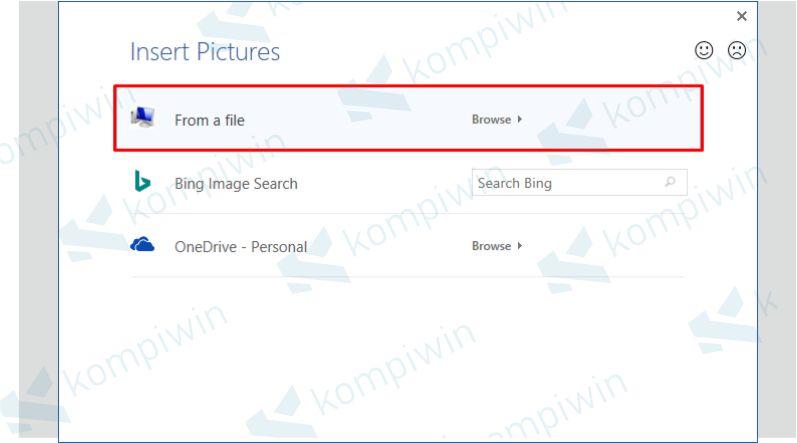 Pilih Gambar dari File