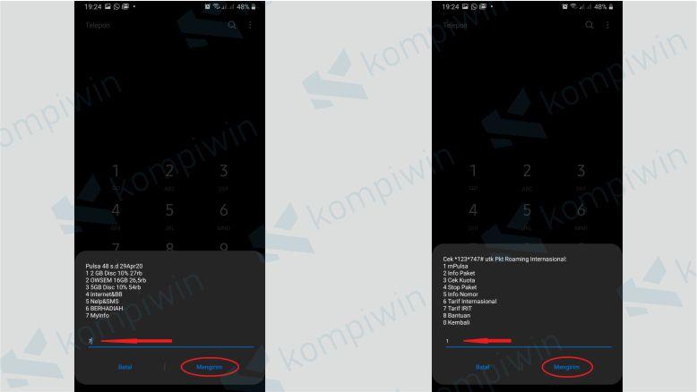 Pilih menu mPulsa untuk Tranfer Pulsa XL