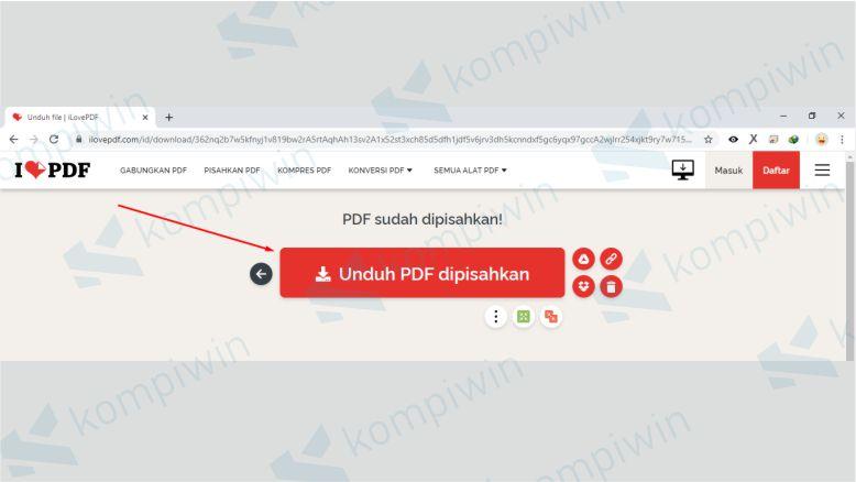 Unduh File PDF Dimana Halaman Tidak Diperlukan Sudah Dihapus
