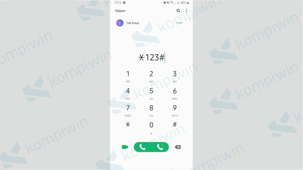 Buka Menu Dial Up - Cara Memperpanjang Masa Aktif XL