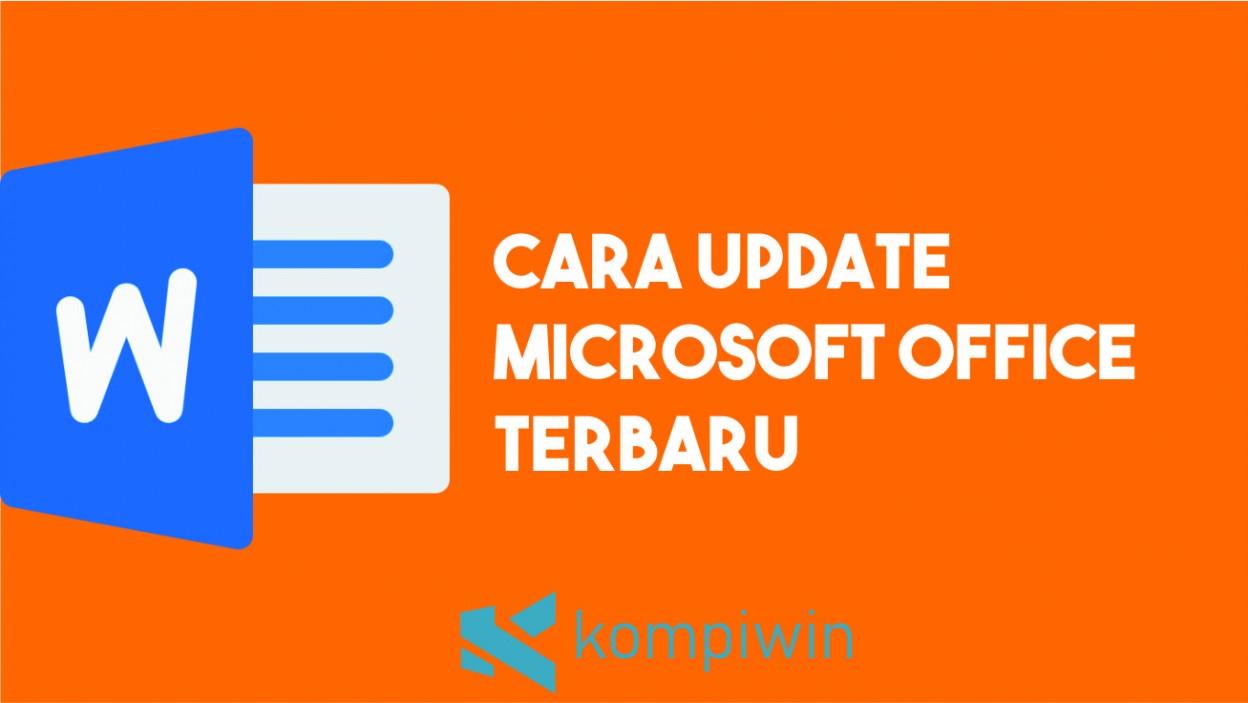 Cara Update Office