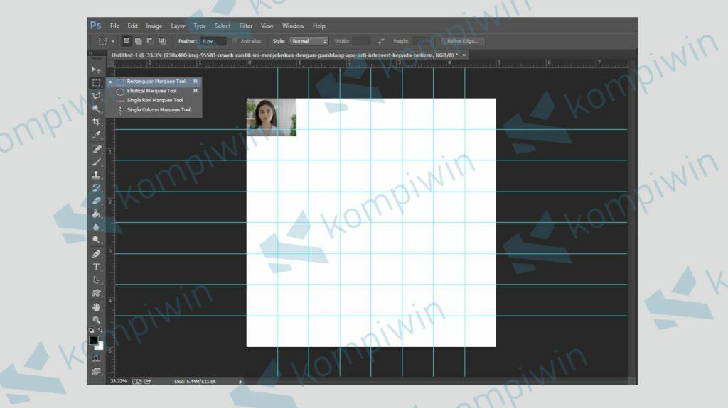 Mulai Menata dan Sesuaikan Ukuran Foto dengan Kotak Cell - Kompiwin