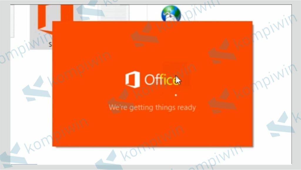 Proses Install Office Terbaru - Cara Perbarui Versi Office