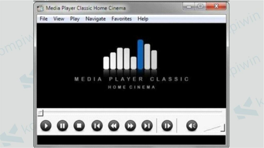 Aplikasi Pemutar Video PC - Media Player Classic Home Cinema