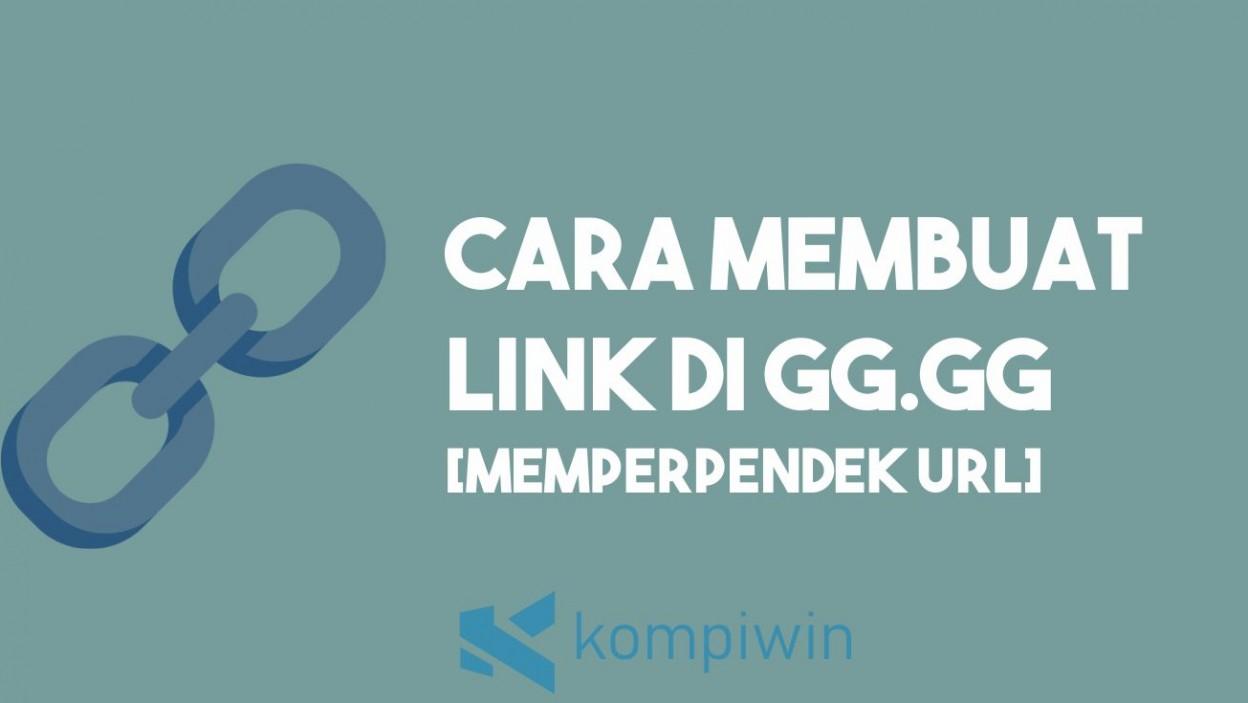Cara Membuat Link gg.gg 2