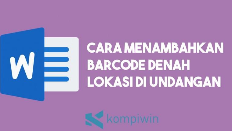 Cara Menambahkan Barcode Denah Lokasi Undangan 6