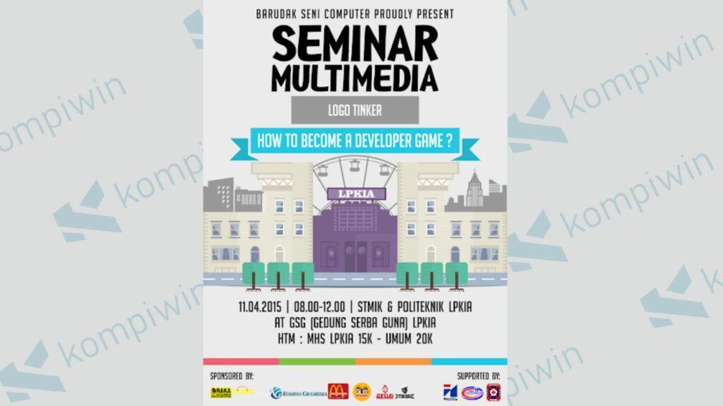 Contoh Poster Seminar