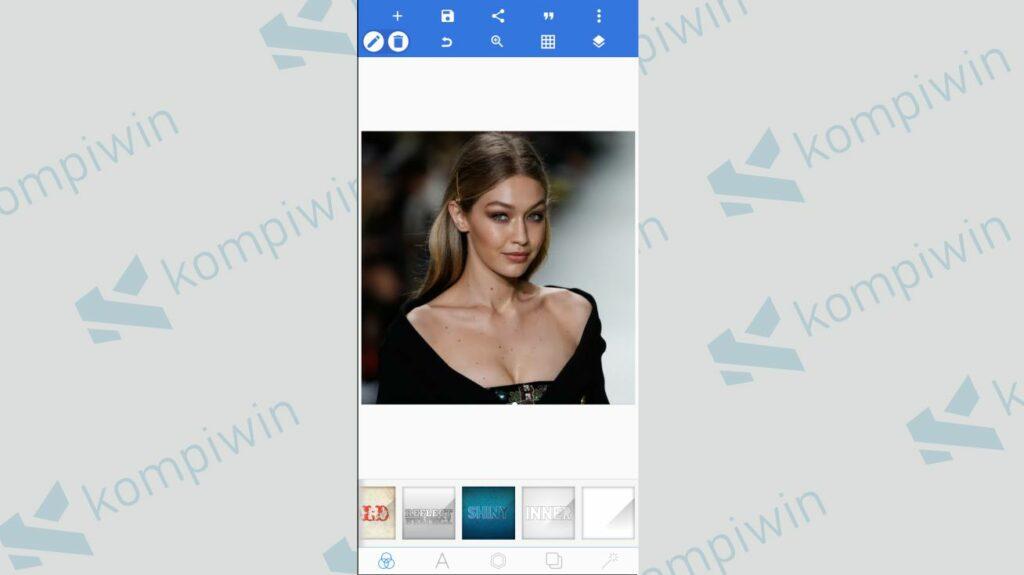Ganti Ukuran Foto - Cara Menggabungkan Twibbon dengan Foto menggunakan PixelLab