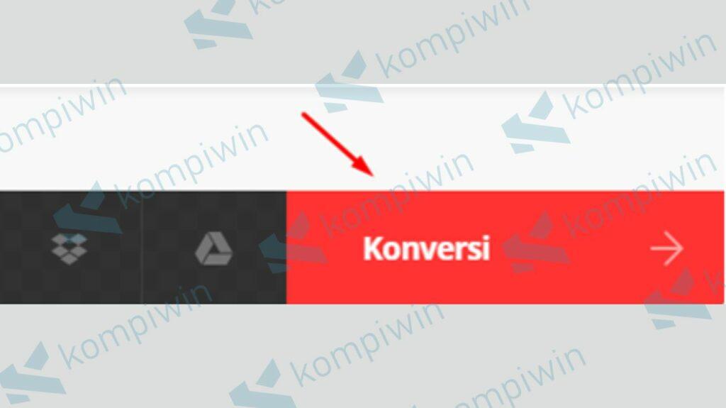 Klik Konversi - Cara Buka File Ai di Photoshop