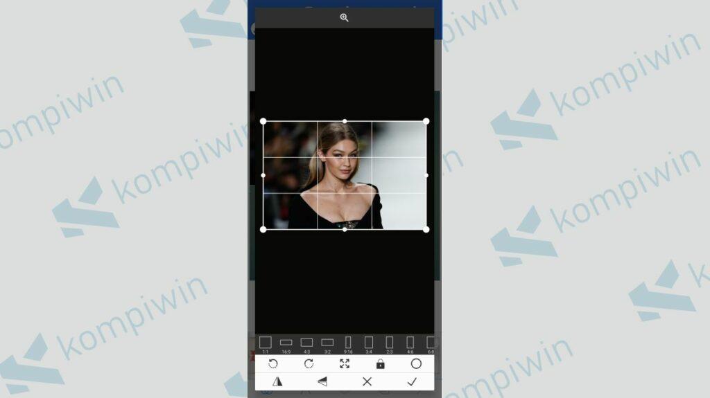 Masukkan Foto - Cara Menggabungkan Twibbon dengan Foto menggunakan PixelLab