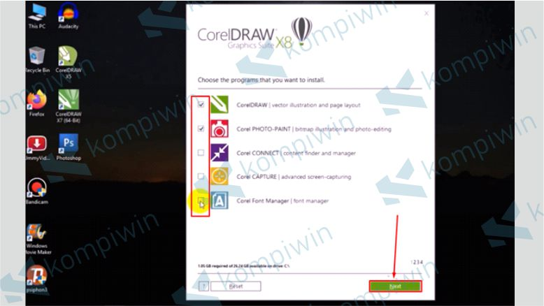 Pilih Aplikasi Sesuai Kebutuhan - Cara Mengatasi Corel X8 Tidak Bisa Diinstall